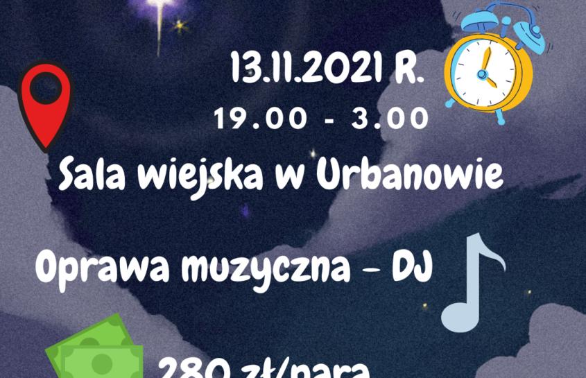 Zapraszamy na Zabawę Andrzejkową :-)